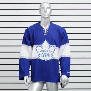Купить хоккейный свитер Toronto Maple Leafs синий