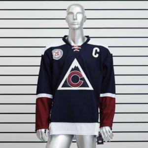 Купить хоккейный свитер Colorado Avalanche синий