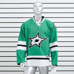 Купить хоккейный свитер Dallas Stars зеленый
