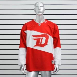 Купить хоккейный свитер Detroit Red Wings красный
