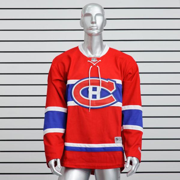 Купить хоккейный свитер Montreal Canadiens красный