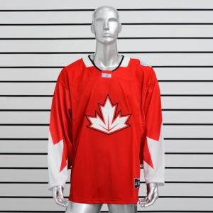 Купить хоккейный свитер сборной Канады красный
