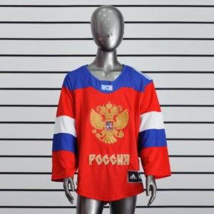 Купить детский хоккейный свитер сборной России со скидкой 30%