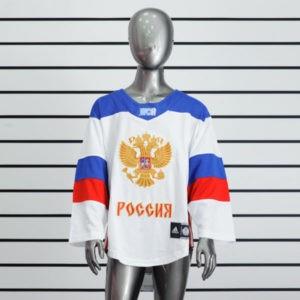 Купить детский хоккейный свитер сборной России (белый)