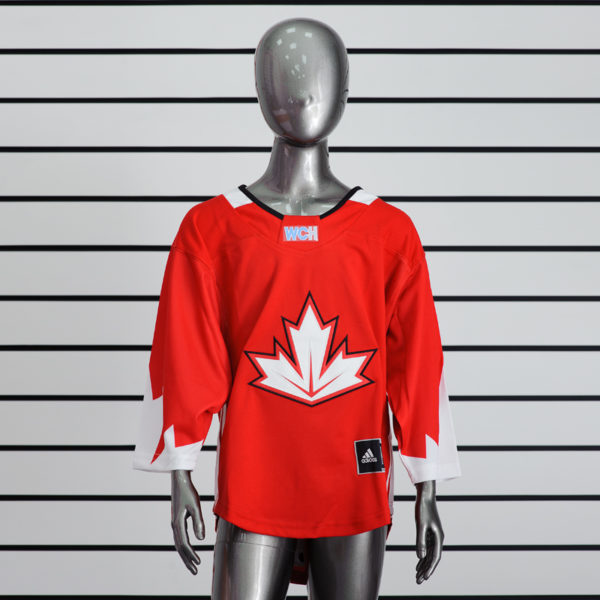 Купить детский хоккейный свитер сборной Канады (красный)