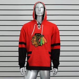 Купить толстовку худи Chicago Blackhawks