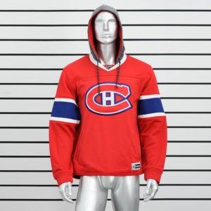 Купить красную толстовку худи Montreal Canadiens