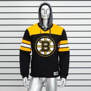 Купить черную толстовку Boston Bruins