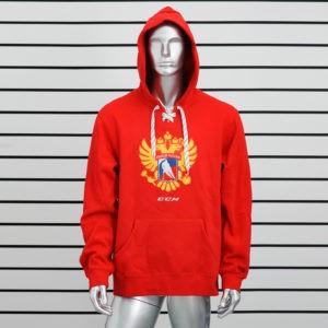 Купить толстовку худи Сборная России красная