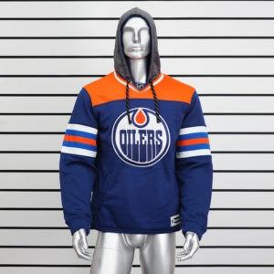 Купить толстовку худи Edmonton Oilers с капюшоном