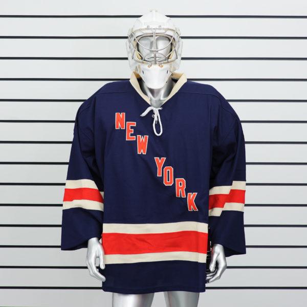 купить вратарский хоккейный свитер New York Rangers (Синий)