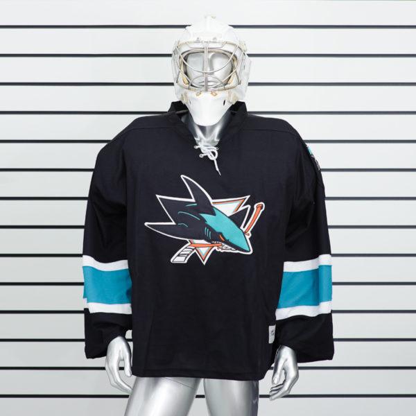 Вратарский хоккейный свитер San Jose Sharks купить