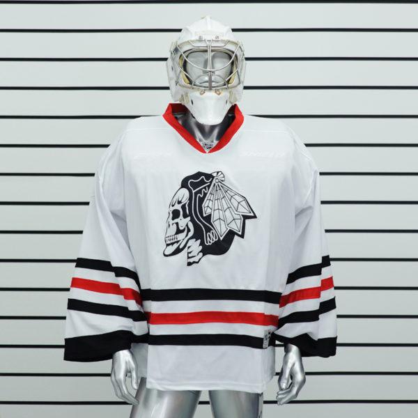 Вратарский хоккейный свитер Chicago Blackhawks