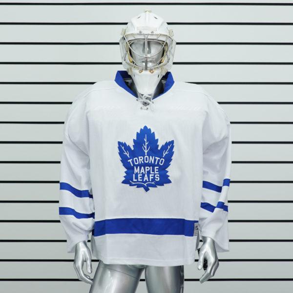 купить вратарский хоккейный свитер Toronto Maple Leafs (Белый)
