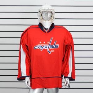 купить вратарский хоккейный свитер Washington Capitals (Красный)