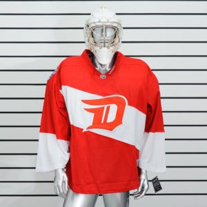 купить вратарский хоккейный свитер Detroit Red Wings