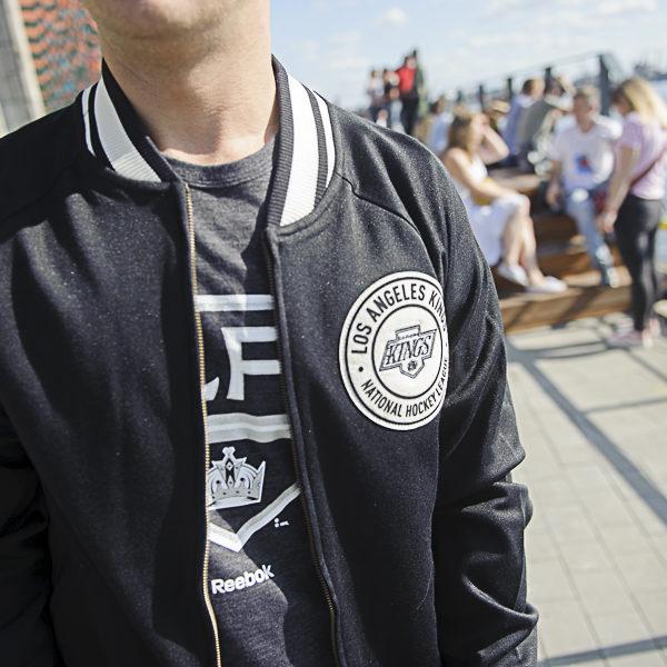 Купить куртку бомбер Los Angeles Kings