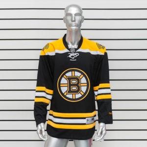 Купить хоккейный свитер Boston Bruins черный