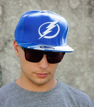 Бейсболка Tampa Bay Lightning YD (Синяя)