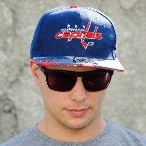 Бейсболка Washington Capitals YD (Синяя)