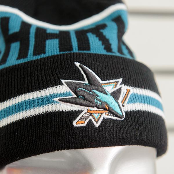 Купить шапку San Jose Sharks
