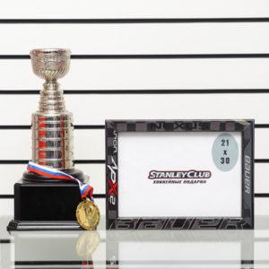 Купить рамку из хоккейной клюшки