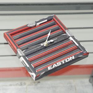 Часы из хоккейной клюшки
